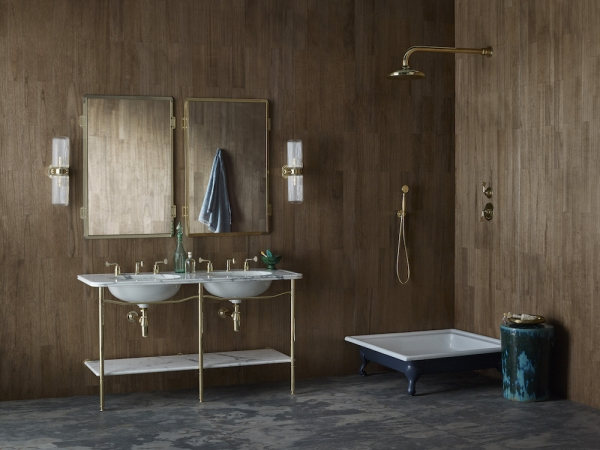 New Leawood tap & shower collection by Martin Brudnizki for Drummonds