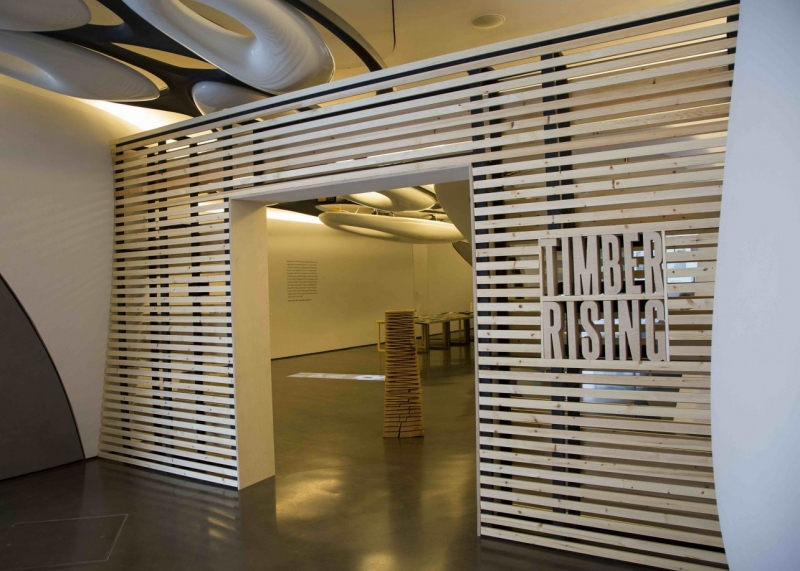 Roca London Gallery present – Timber Rising: Vertical Visions for the Cities of Tomorrow