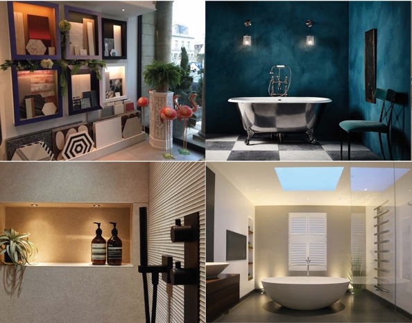 """""""Bathroom Design Trends – Colours, Lighting and Products"""" Event hosted by John Cullen Lighting, Drummonds, Reed Harris & Designed By Woulfe"""
