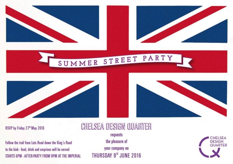 Chelsea Design Quarter Summer Street Party