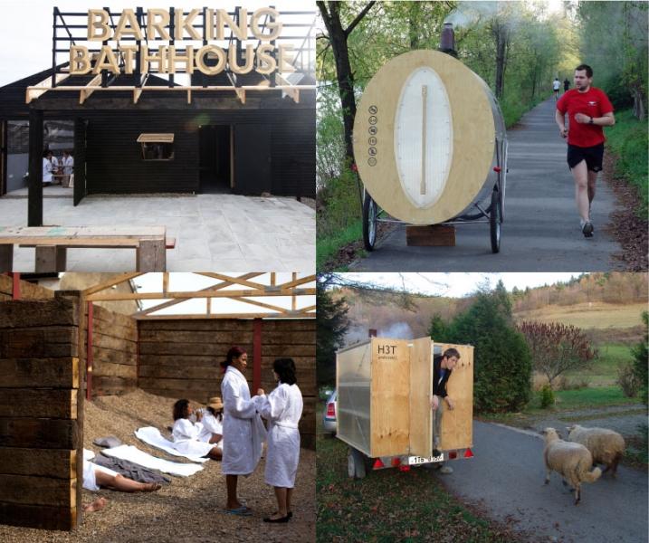 Soak, Steam, Dream: Architects Reimagine Bathing