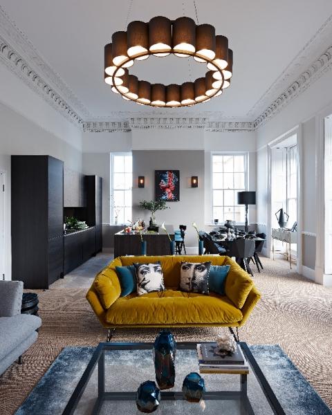 Brilliant, original interior design - and Go Modern furniture