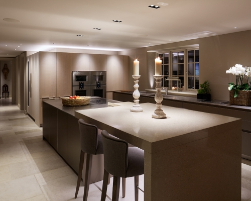 Kitchen lighting design and products from John Cullen Lighting