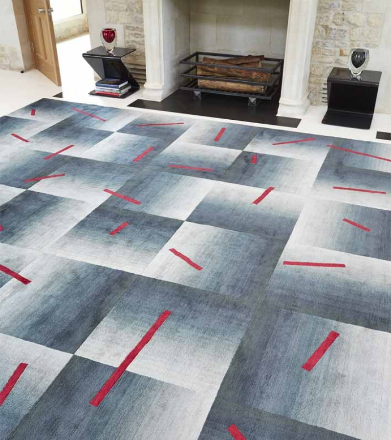 Deirdre Dyson SCATTER hand knotted rug