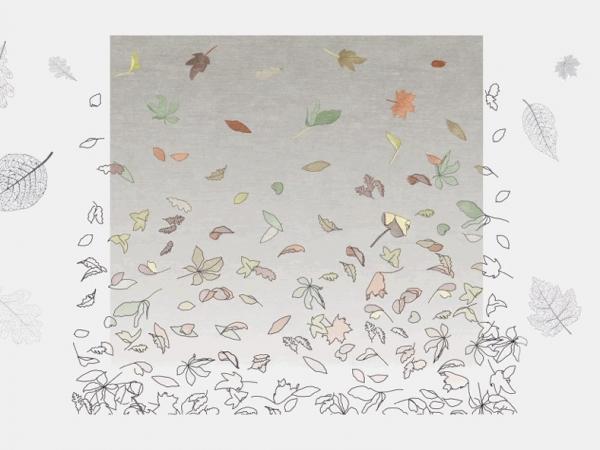 'Windswept Leaves' at Deirdre Dyson