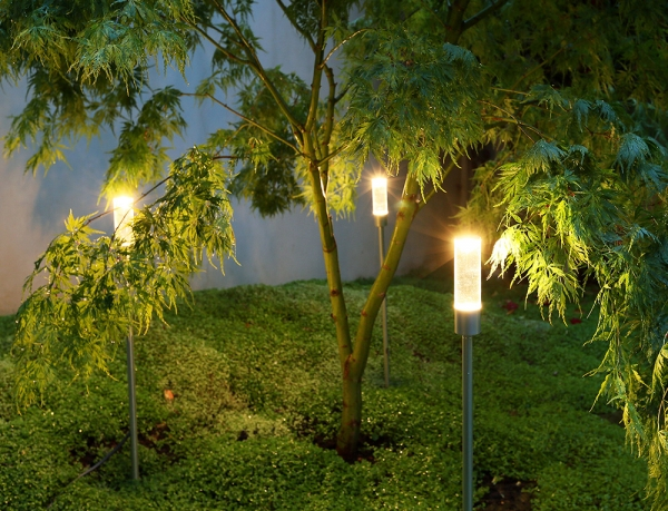 Magical Candle Illumination for the Garden from John Cullen Lighting
