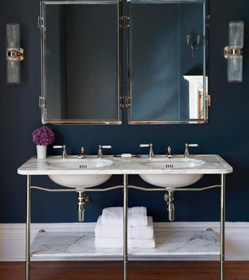 The Ladybower Double Vanity Basin