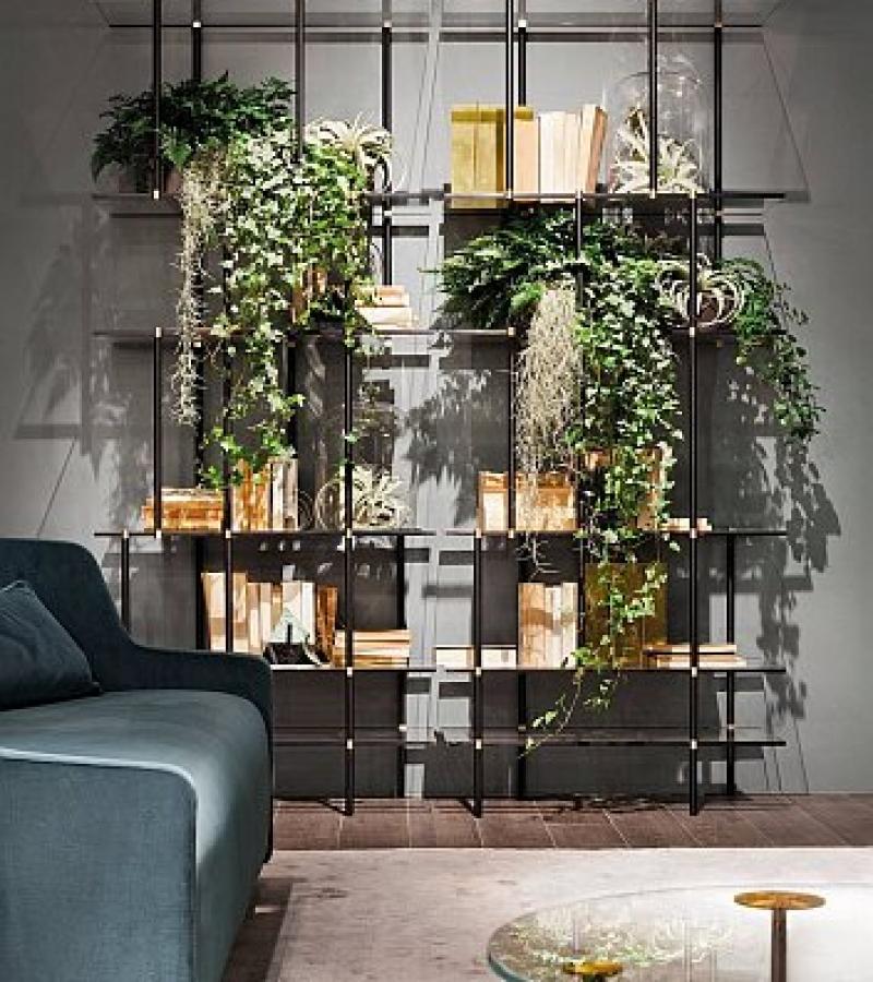 Gallotti & Radice Drizzle Wall Shelves