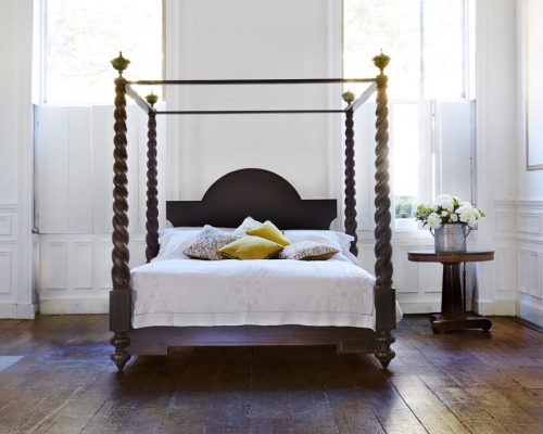 Mayfair four poster bed from Simon Horn