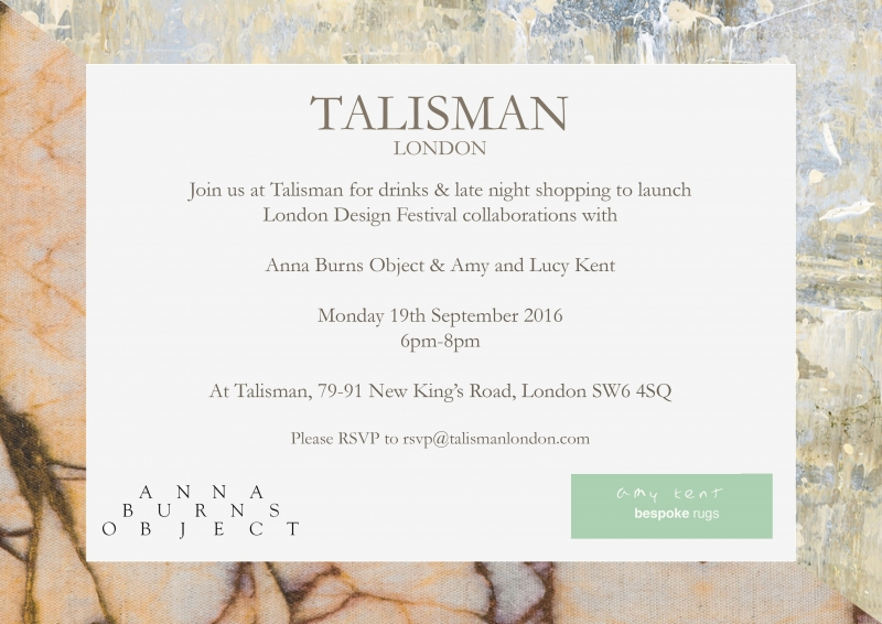London Design Festival 2016 at Talisman
