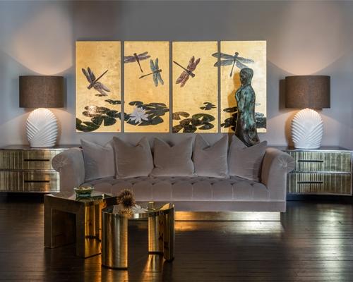 Talisman Bespoke Deep Buttoned Sofa