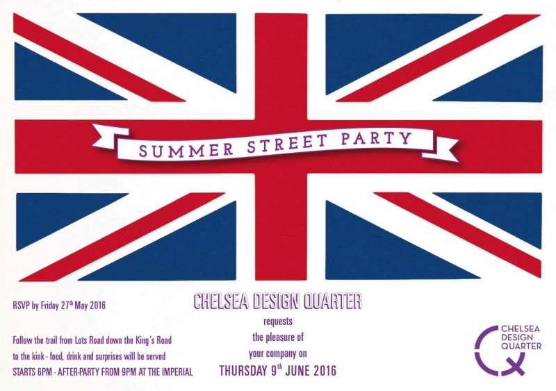 Chelsea Design Quarter Summer Street Party