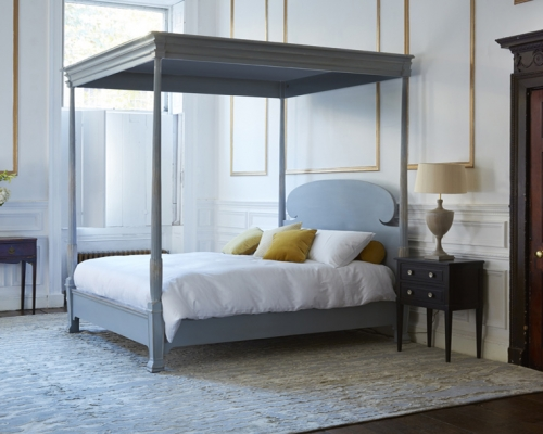 Reeded four poster bed from Simon Horn
