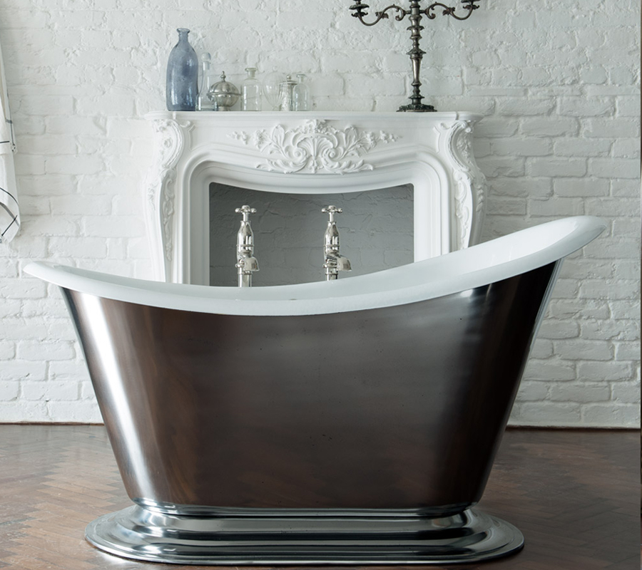 The Morar Slipper Bath by Drummonds