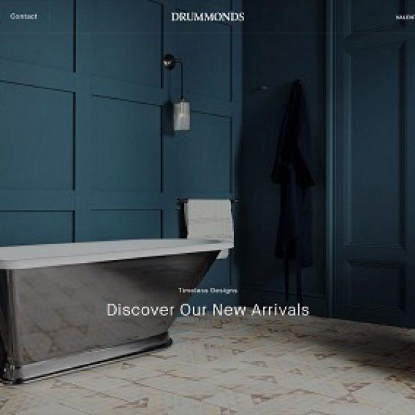 Drummonds Launch new website
