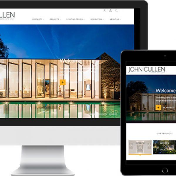 John Cullen Lighting launches new website